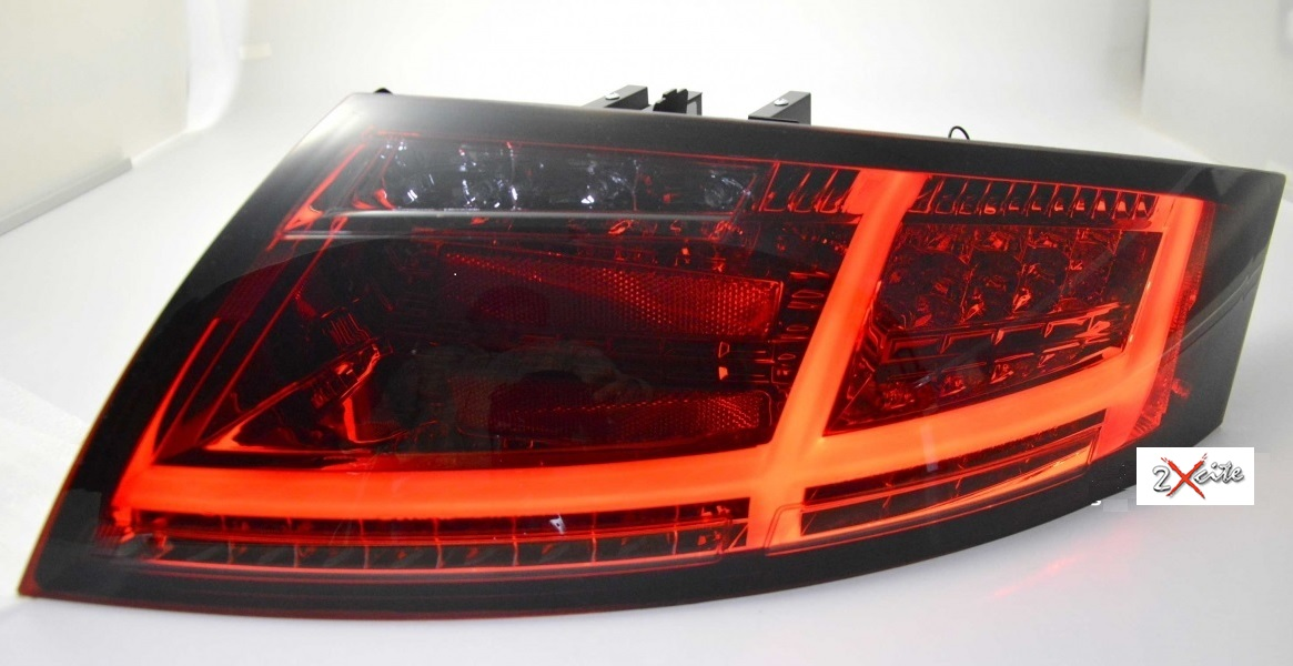 Details about LED RED & SMOKED REAR TAIL LIGHTS BAR AUDI TT 8J MODEL 07-13  DYNAMIC INDICATORS