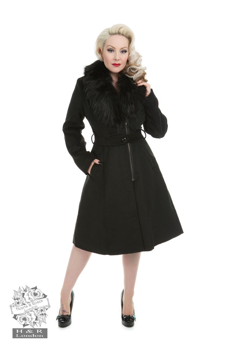 HEARTS AND ROSES H&R LONDON MAJESTIC WOMENS WINTER COAT ...
