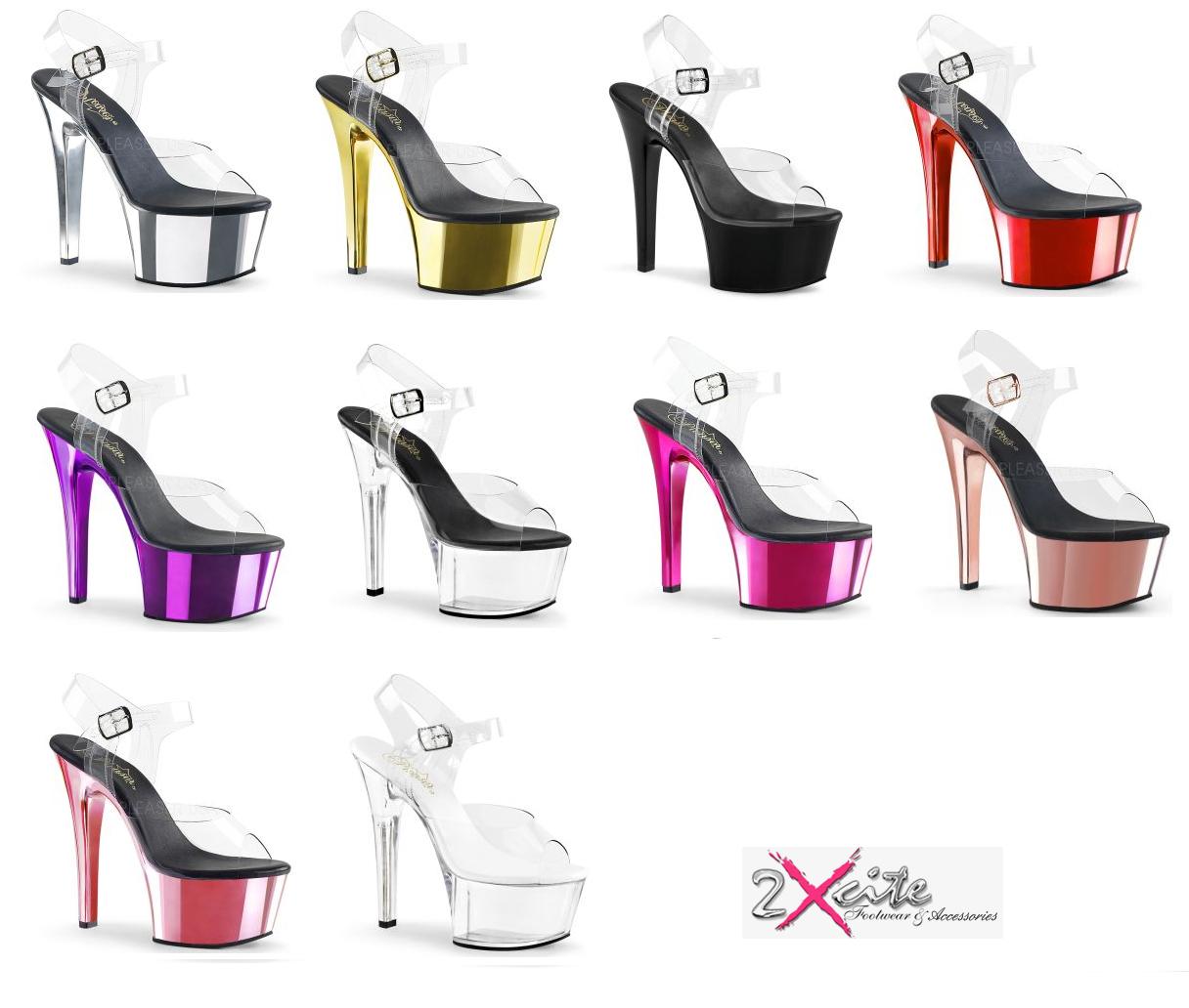 "High Heels Pleaser Shoes Damenschuhe  /""FLAMINGO-891/"""