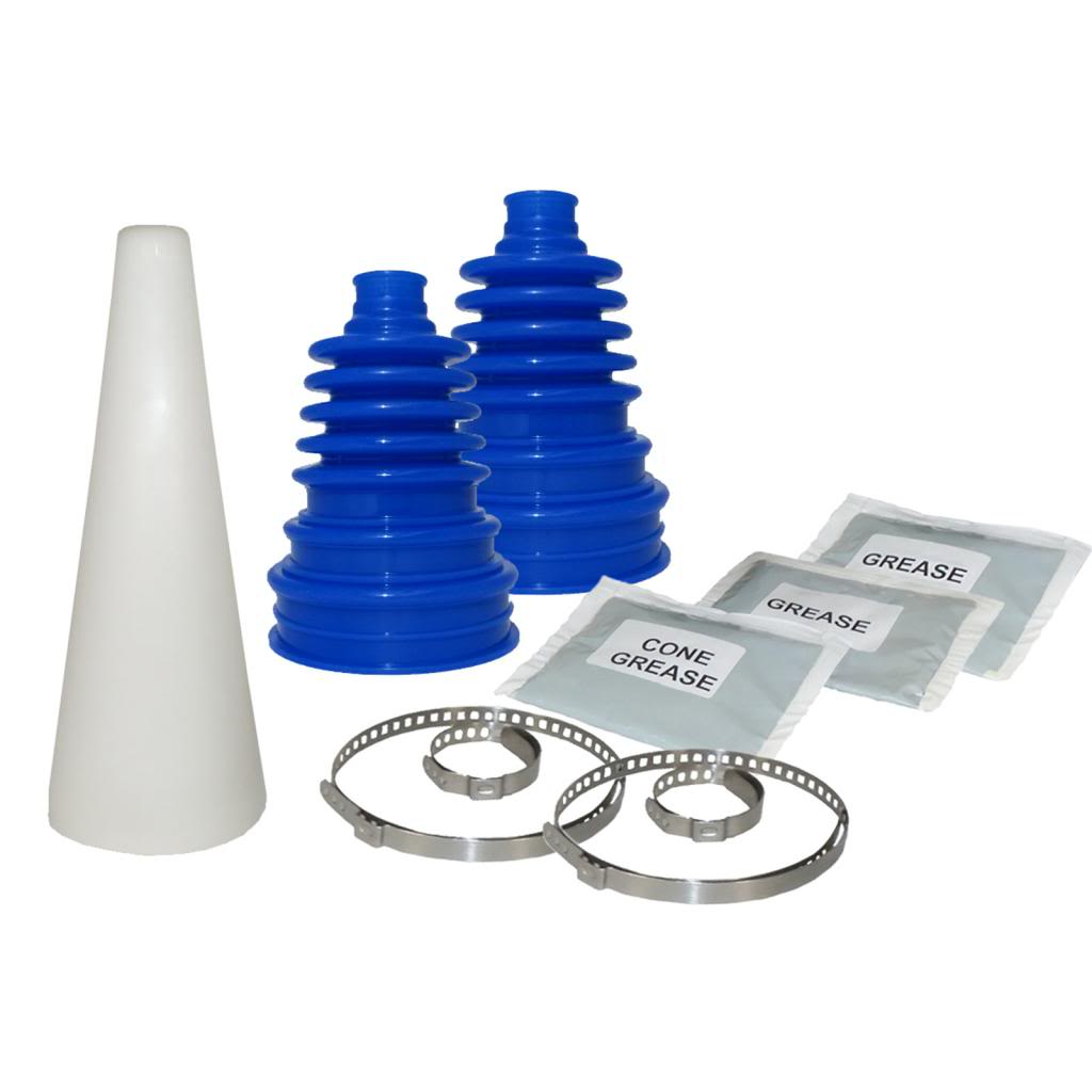 1x universal cv joint boot kit cone blue cv bootkit cone