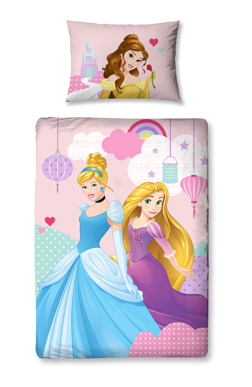 Disney Princess Enchanting Junior Cot Bed Duvet Cover