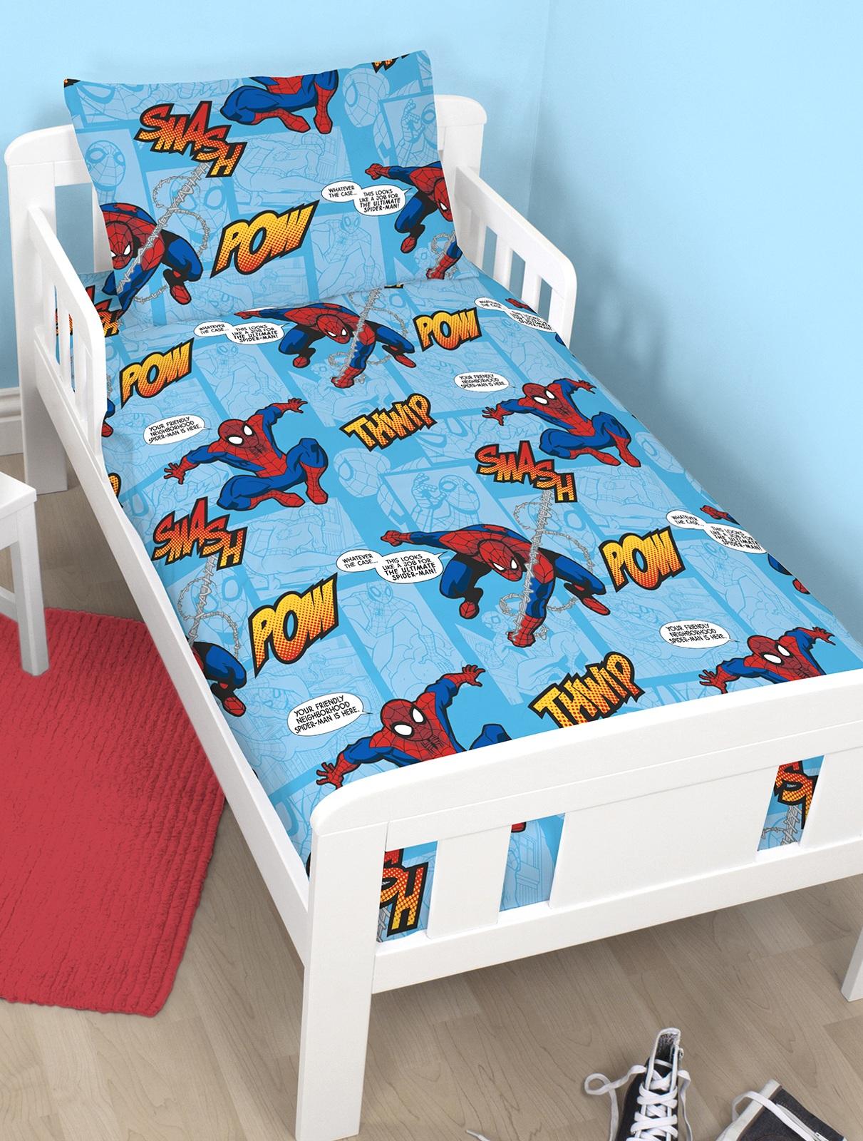 Spiderman Thwip 4 In 1 Kinderbett Garnitur Bettw 196 Sche