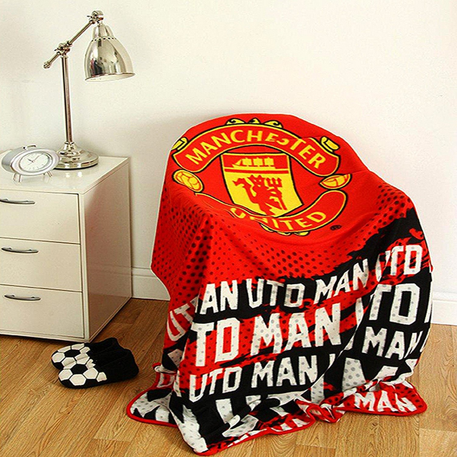 Extra Large Manchester United Football Club Soft Fleece