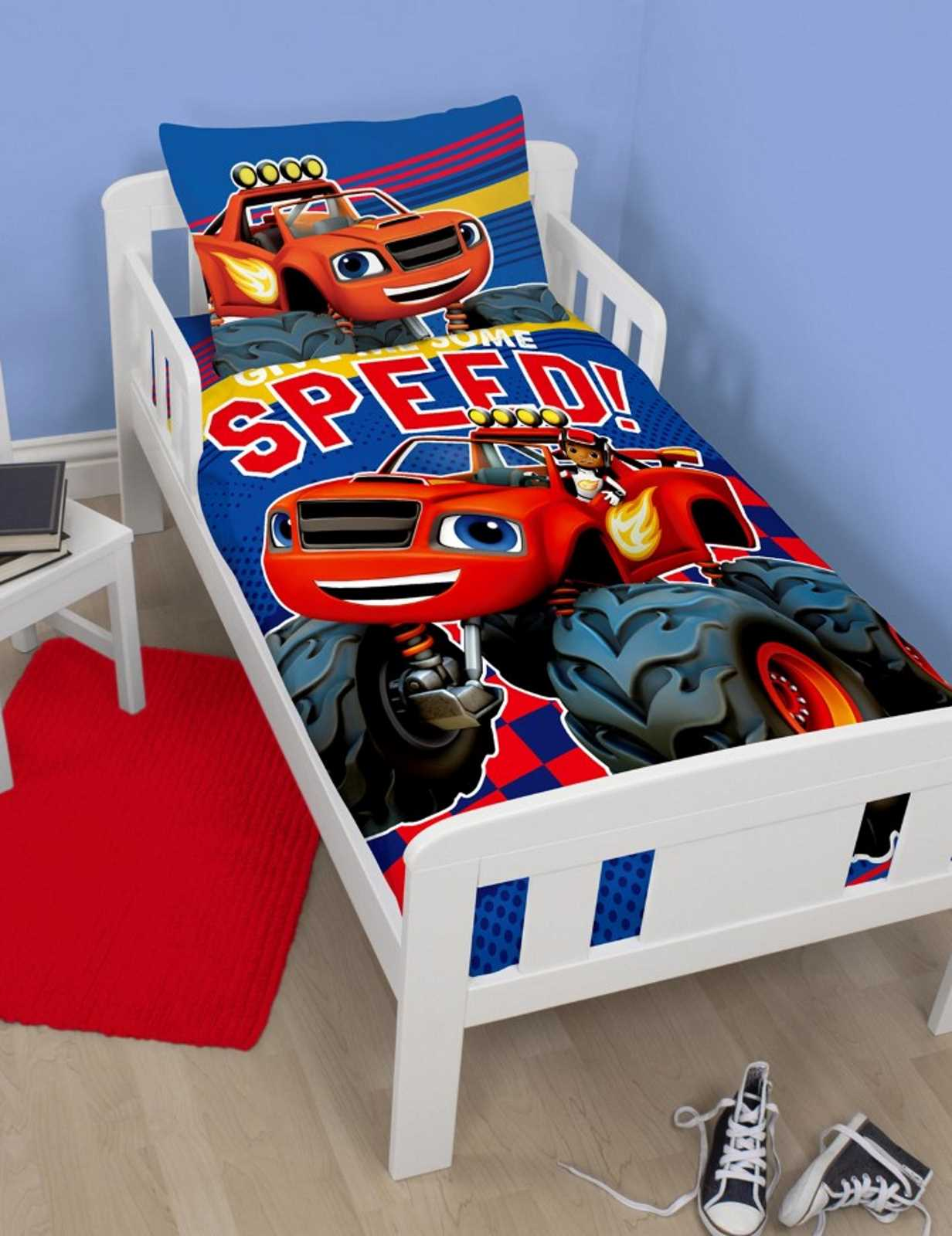 Blaze Amp The Monster Machine Junior Toddler Baby Cot Bed
