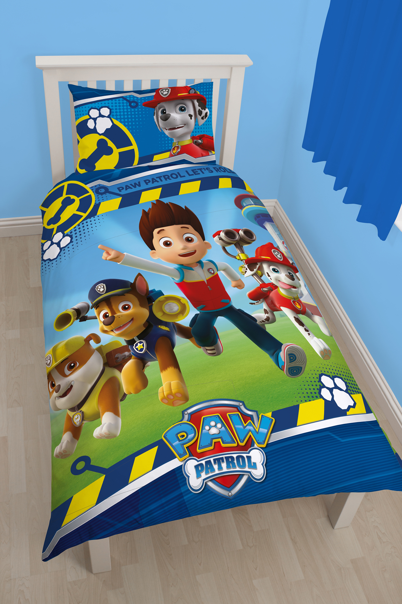 Boys Character Football Single Cotton Blend Duvet Quilt