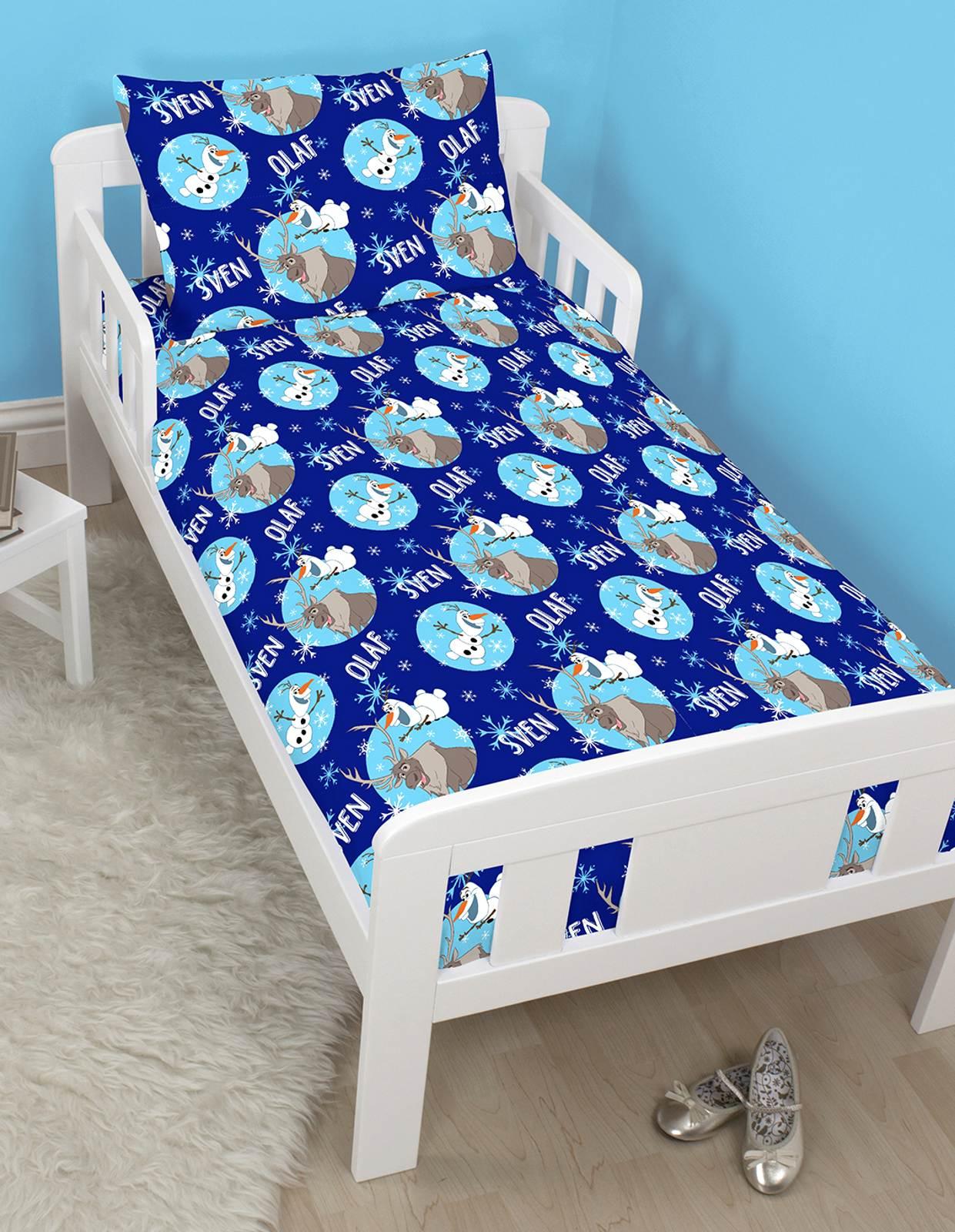 disney frozen kinderbett gr e kleinkind bettdecke. Black Bedroom Furniture Sets. Home Design Ideas