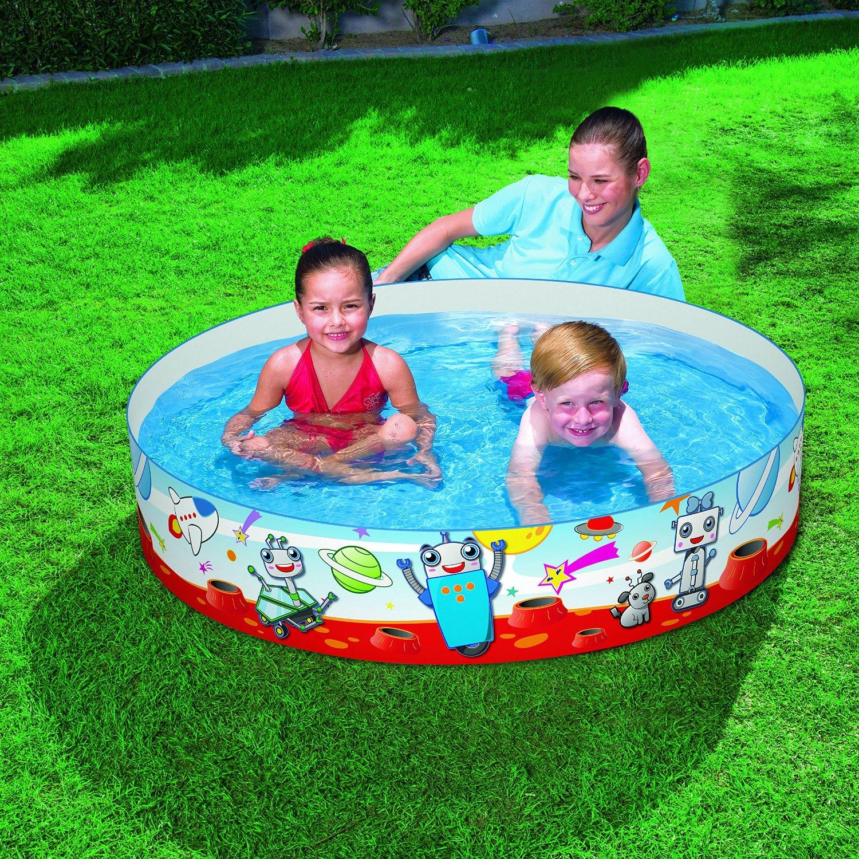 Bestway easy fill fun childrens outdoor paddling pool 48 for Rigid paddling pool