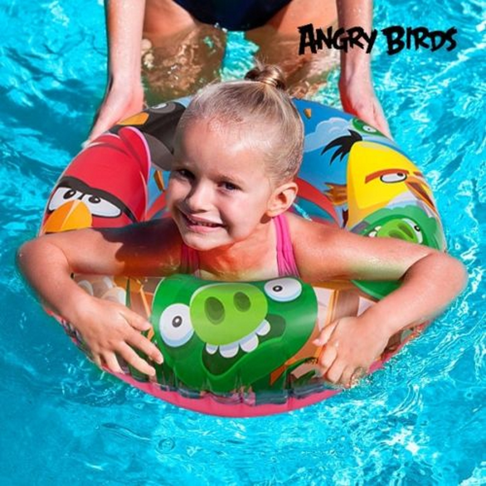 Product details of new inflatable floating swim ring kids children toy - Bestway Angry Birds Swim Ring