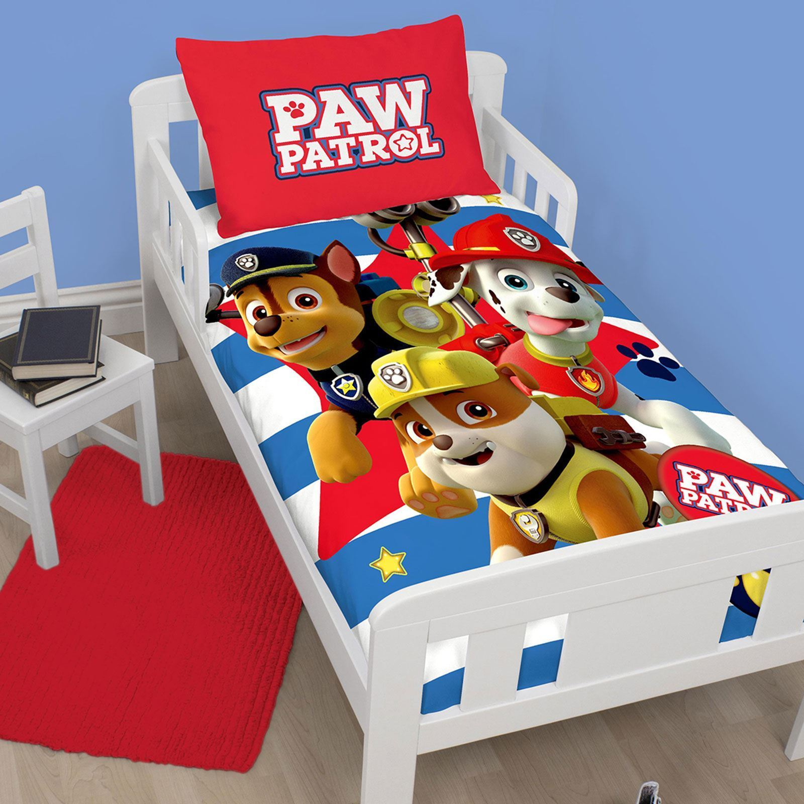 Paw Patrol Cot Bed Duvet Cover