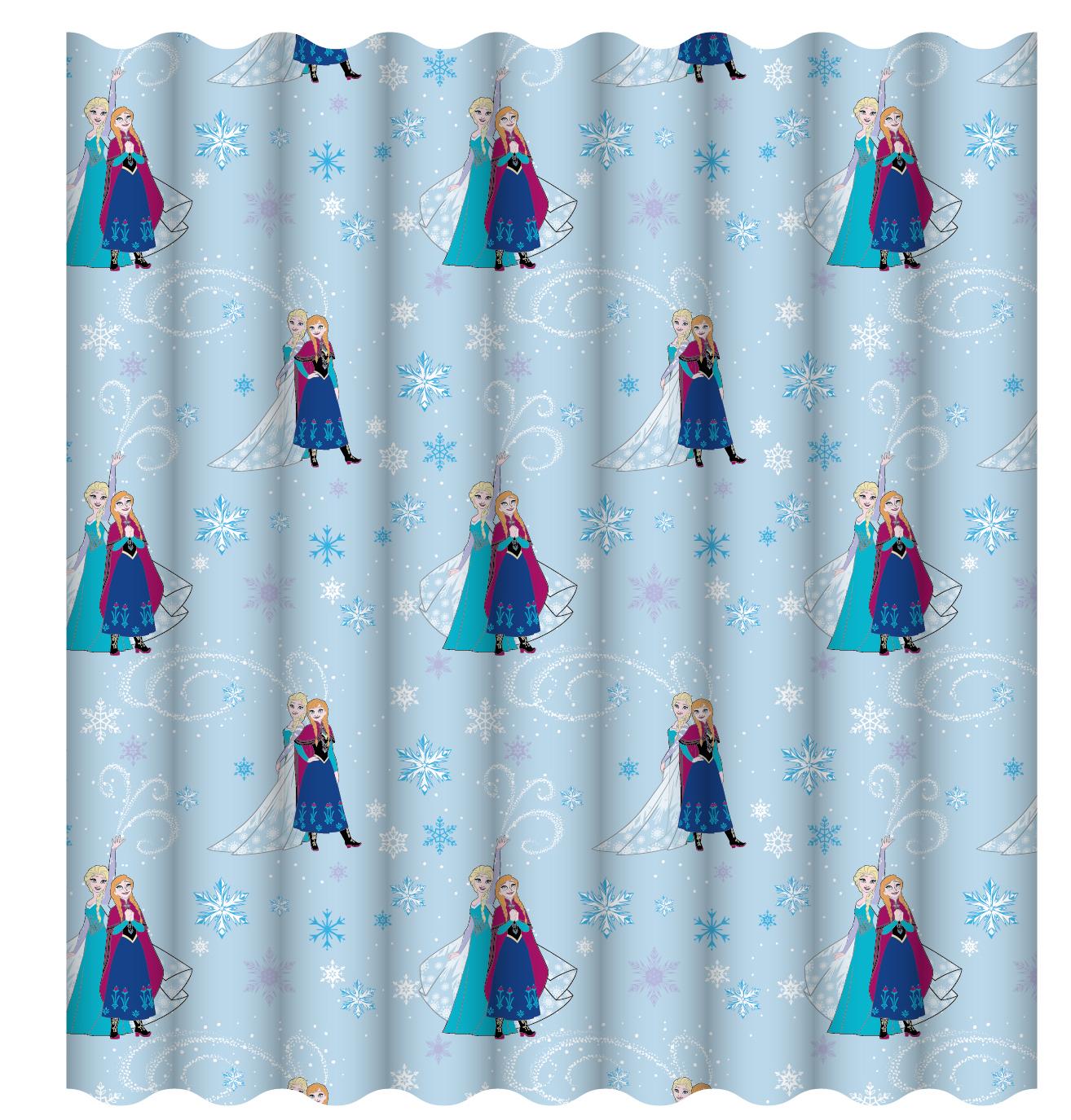 Disney Frozen 66 Quot X 54 Quot Lights Curtains Set Anna Elsa