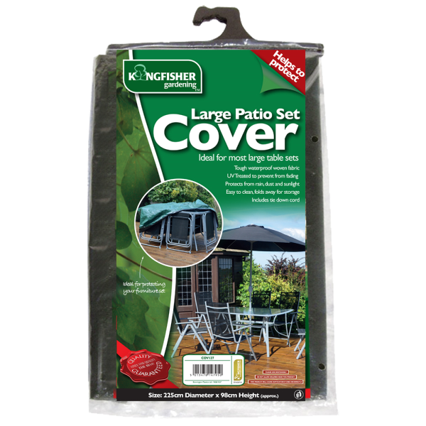 New Kingfisher Large Garden Furniture Waterproof Protector Covers Ebay