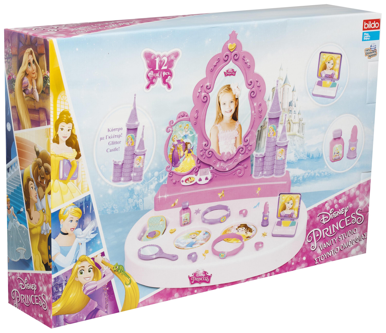 Disney Princess Toy Vanity Mirror Girls Make Up Beauty