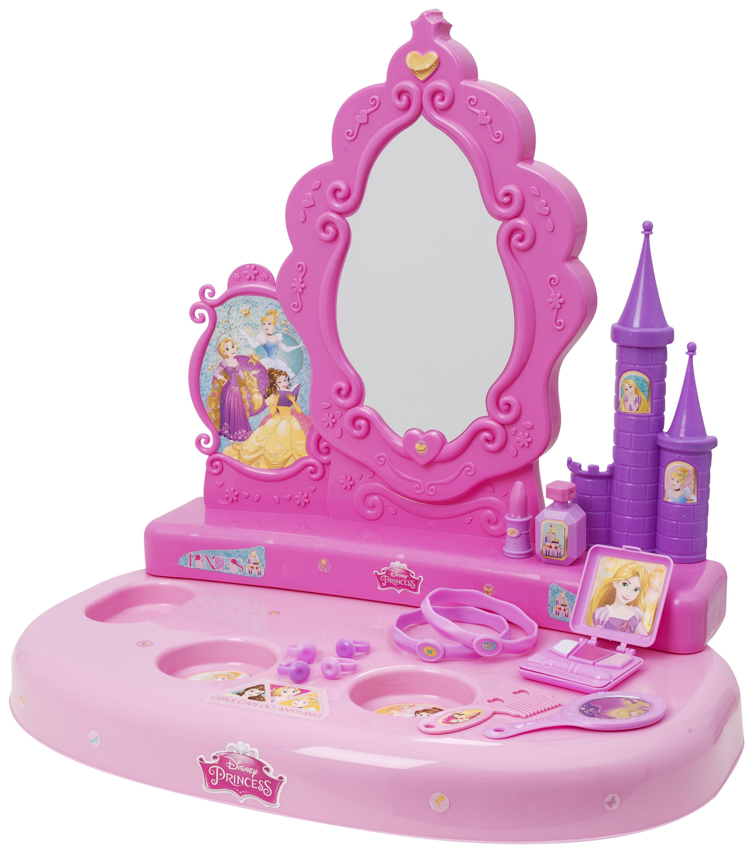 Disney Princess Vanity Mirror And Accessories