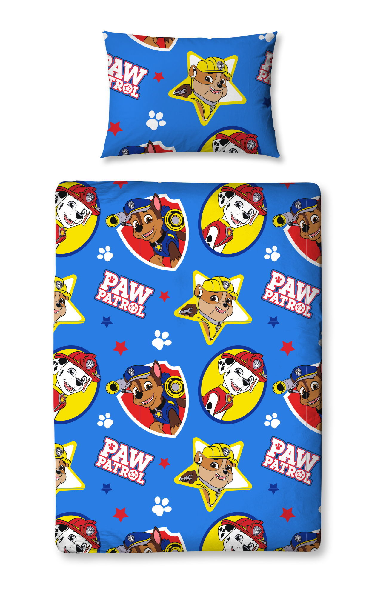 4 in 1 paw patrol pawsome welpen kinderbett b ndel kleinkind bed duvetsteppdecke 5055285399573. Black Bedroom Furniture Sets. Home Design Ideas