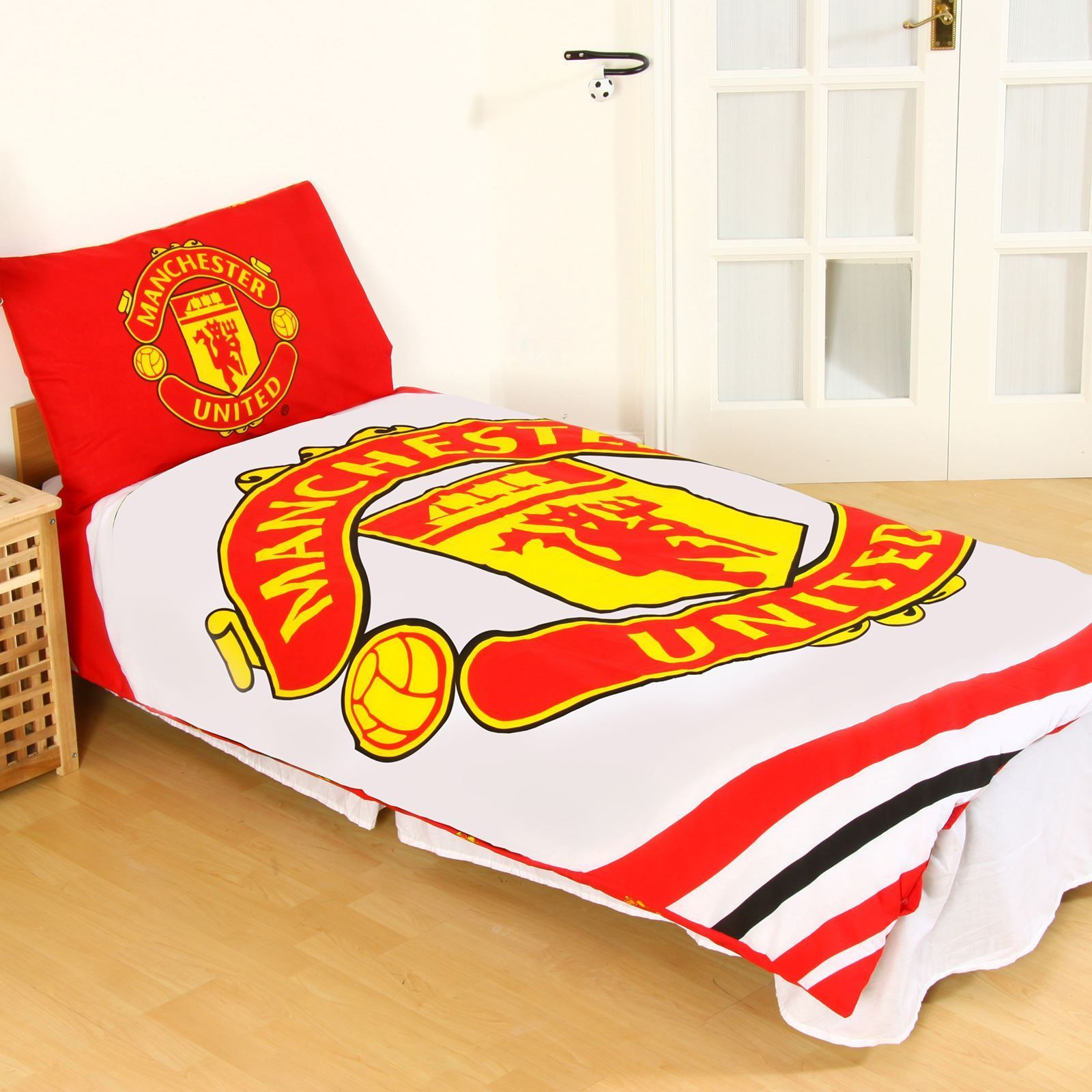 Manchester United Official Football Single Duvet Quilt
