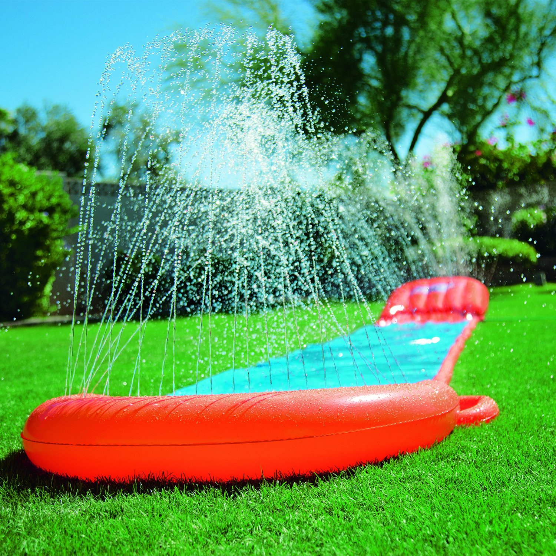 new bestway h20 go water slip and slide inflatable. Black Bedroom Furniture Sets. Home Design Ideas