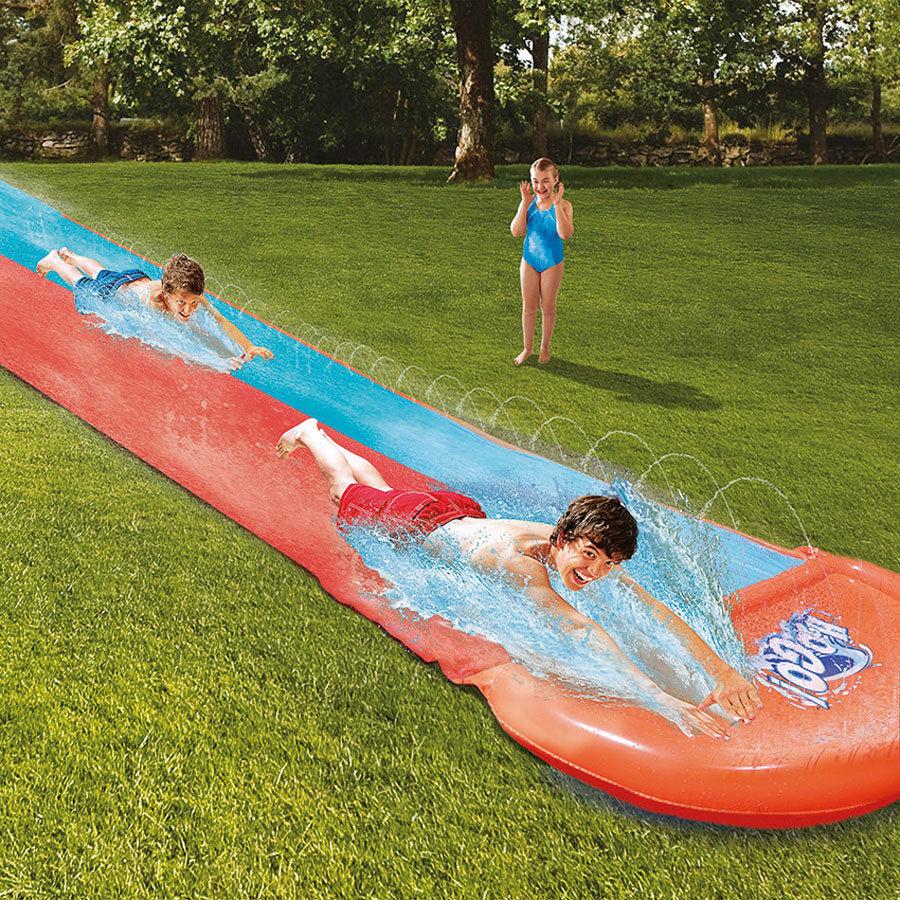 double size bestway h20 go water slip and slide. Black Bedroom Furniture Sets. Home Design Ideas