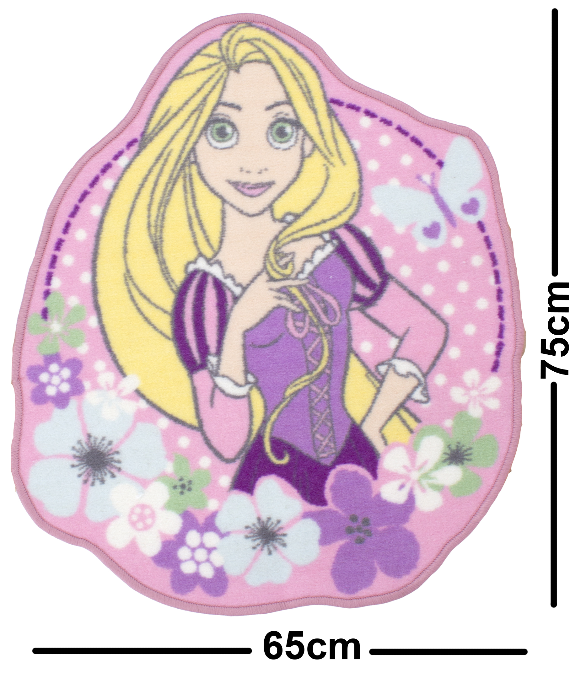 New Disney Princess Pink Bedroom Rug Girls Kids