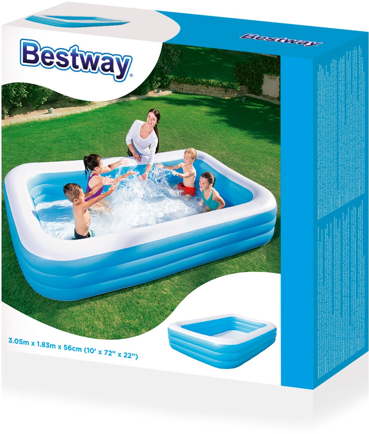 neu bestway schnell angebrachte pool abdeckung schutz mit seile ebay. Black Bedroom Furniture Sets. Home Design Ideas