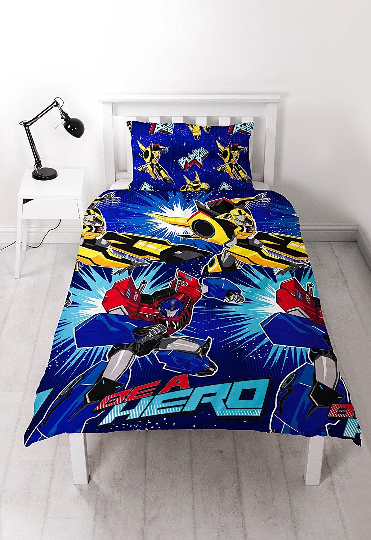 Power Rangers Within Movie Design Single Duvet Quilt Cover Set New Boys Bedroom Kids Teens Bedding Sets Kids Teens Bedding