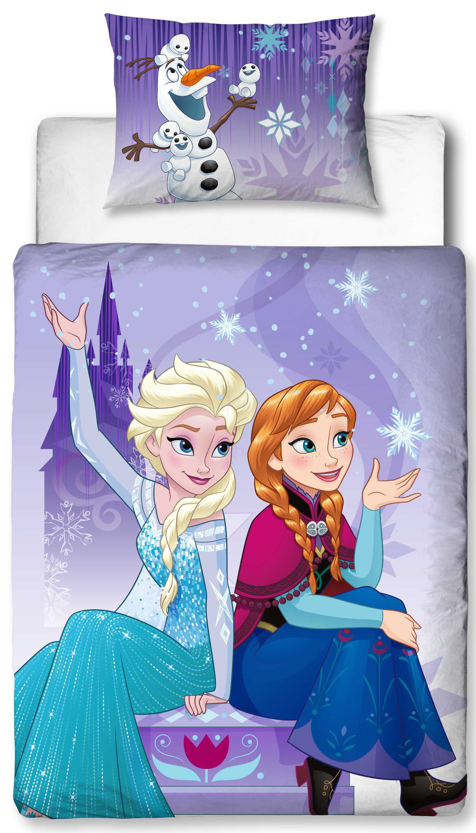 Disney Frozen Junior Toddler Cot Bed Size Duvet Cover Set