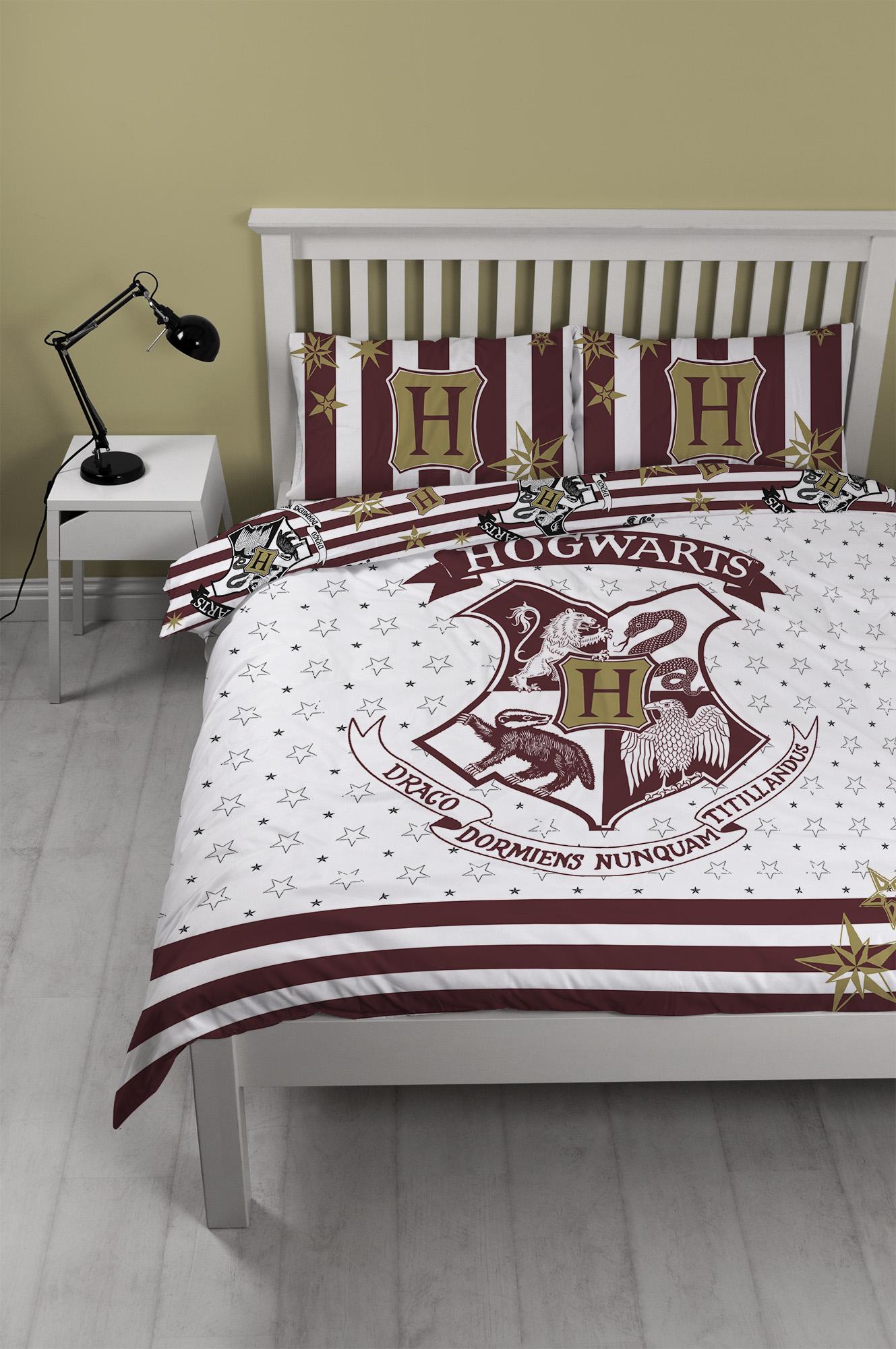 Harry Potter Fantastic Beasts Design Double Duvet Cover Set