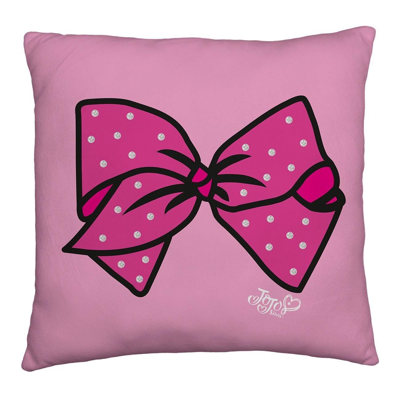 neu jojo siwa gro e schleife kissen m dchen kinder ventilator pink ebay. Black Bedroom Furniture Sets. Home Design Ideas