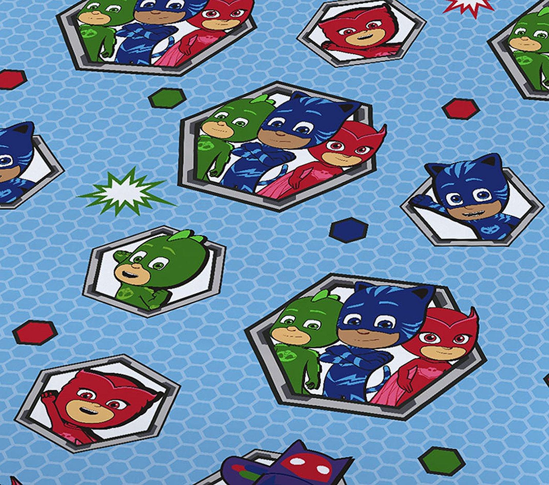 New Pj Masks Junior Toddler Cot Bed Size Duvet Quilt Cover