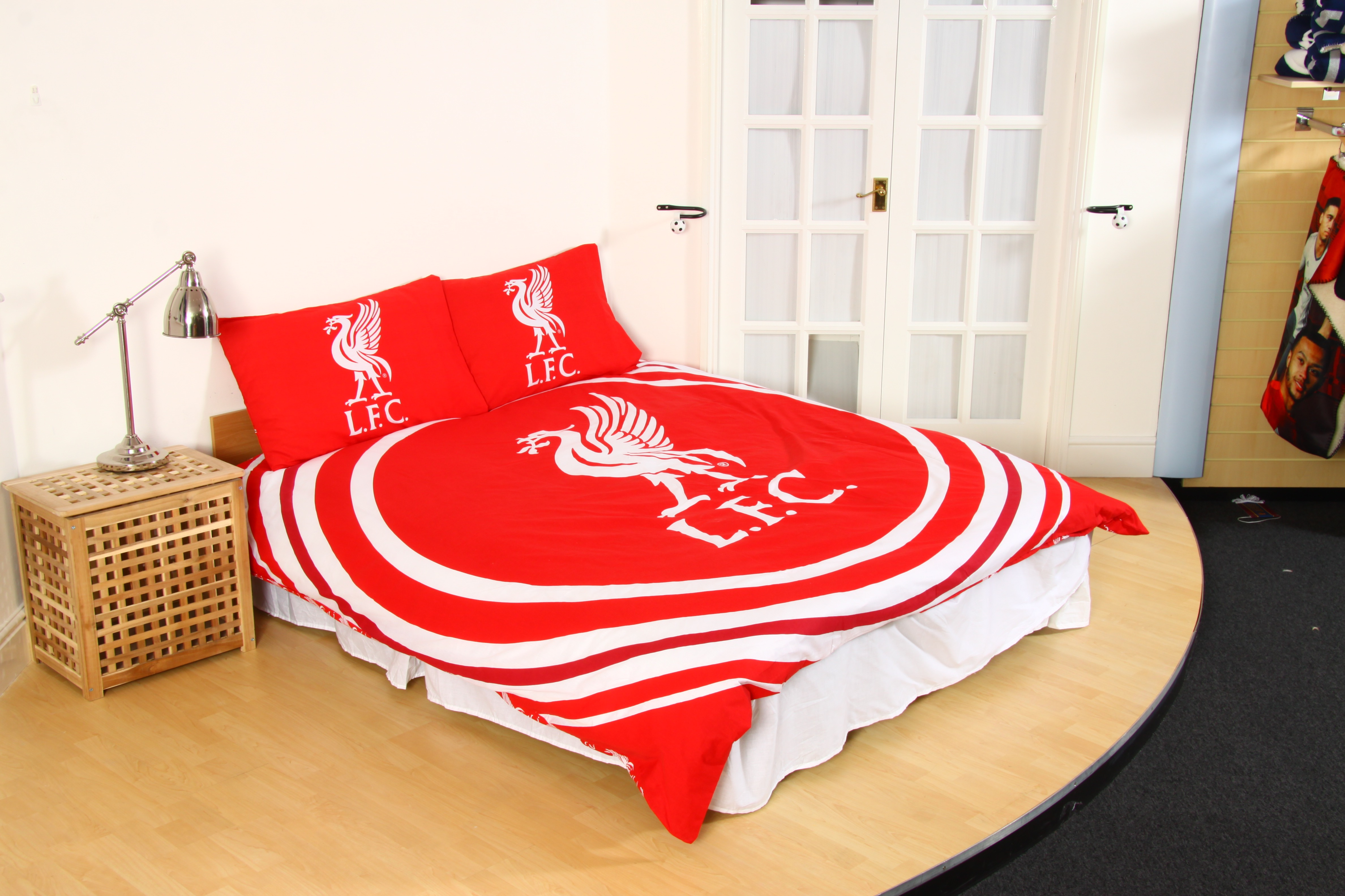 neuf liverpool f c club football ensemble housse de On ensemble couette