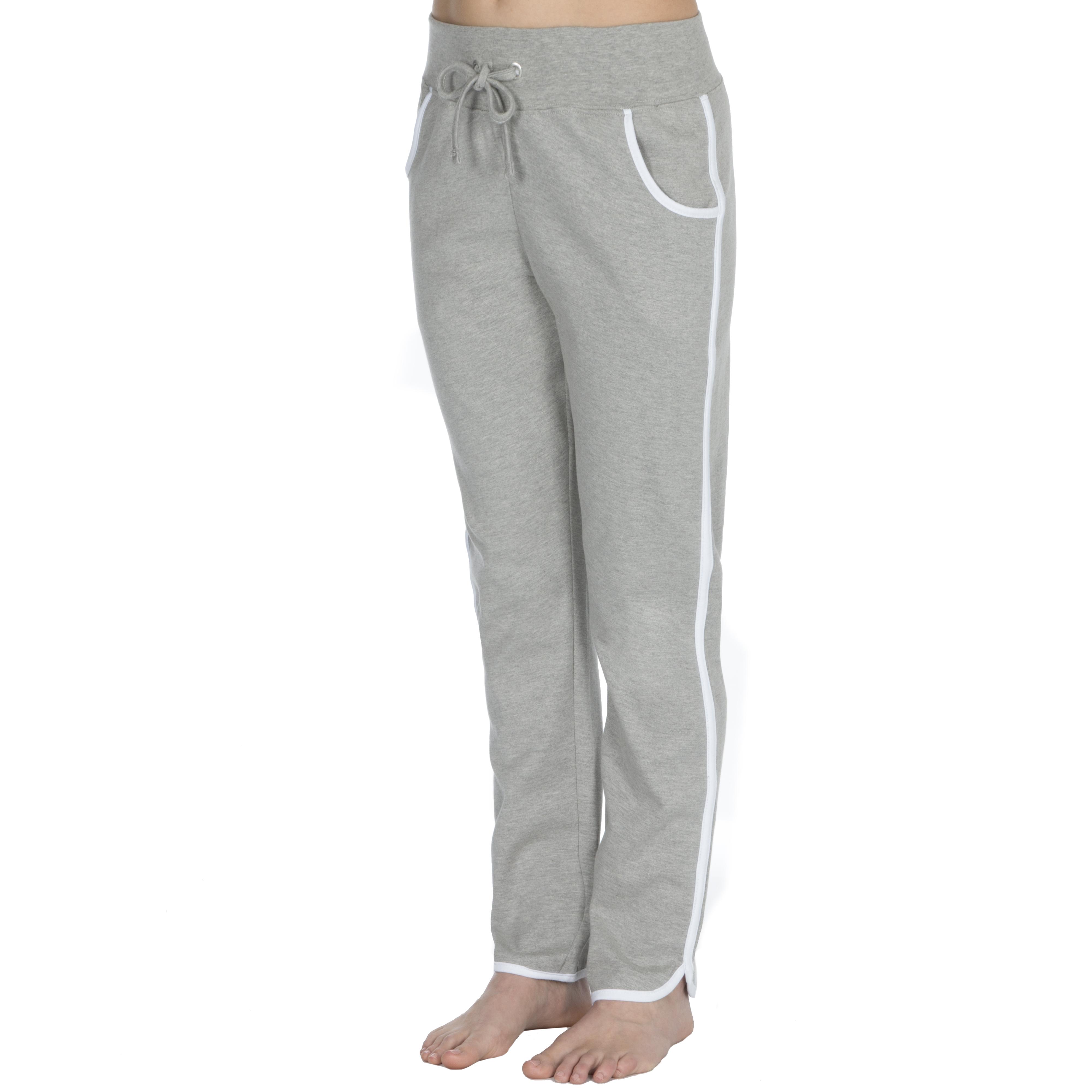 NEW COTTONIQUE Ladies Interlock Jog pants 100/% Cotton Sports Active Wear Trouser