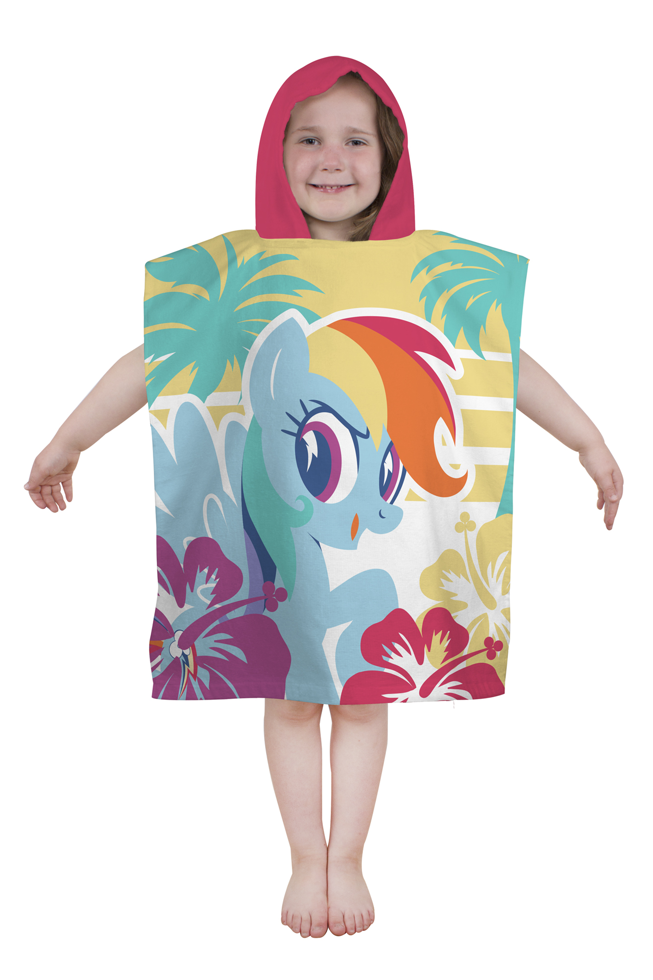 CARTOON WORLD Bathrobe poncho beach towel/ /My Little Pony A