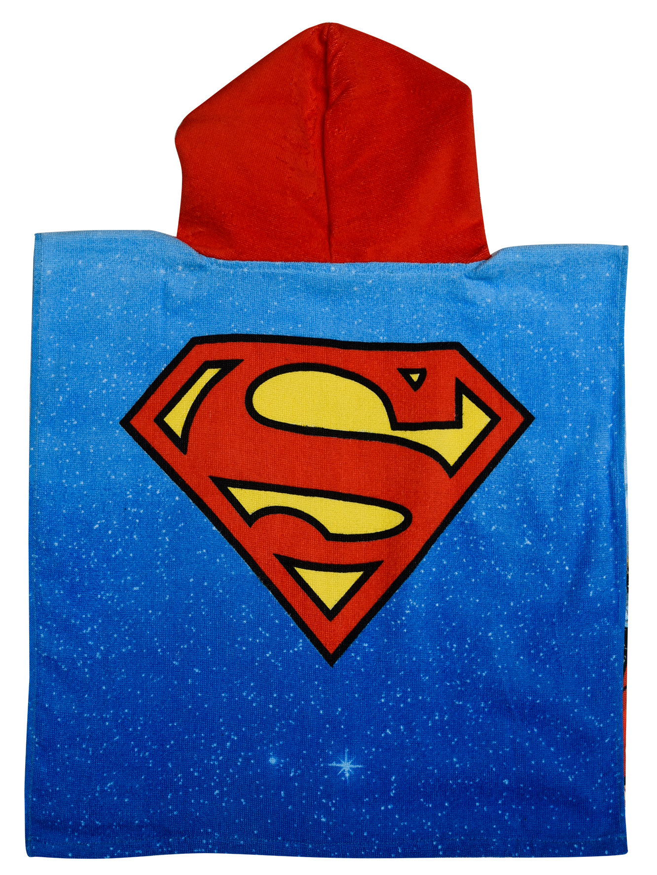"""New Superman /""""Justice League/"""" Poncho Boys Kids Sun Protect Holiday Beach Towel"""