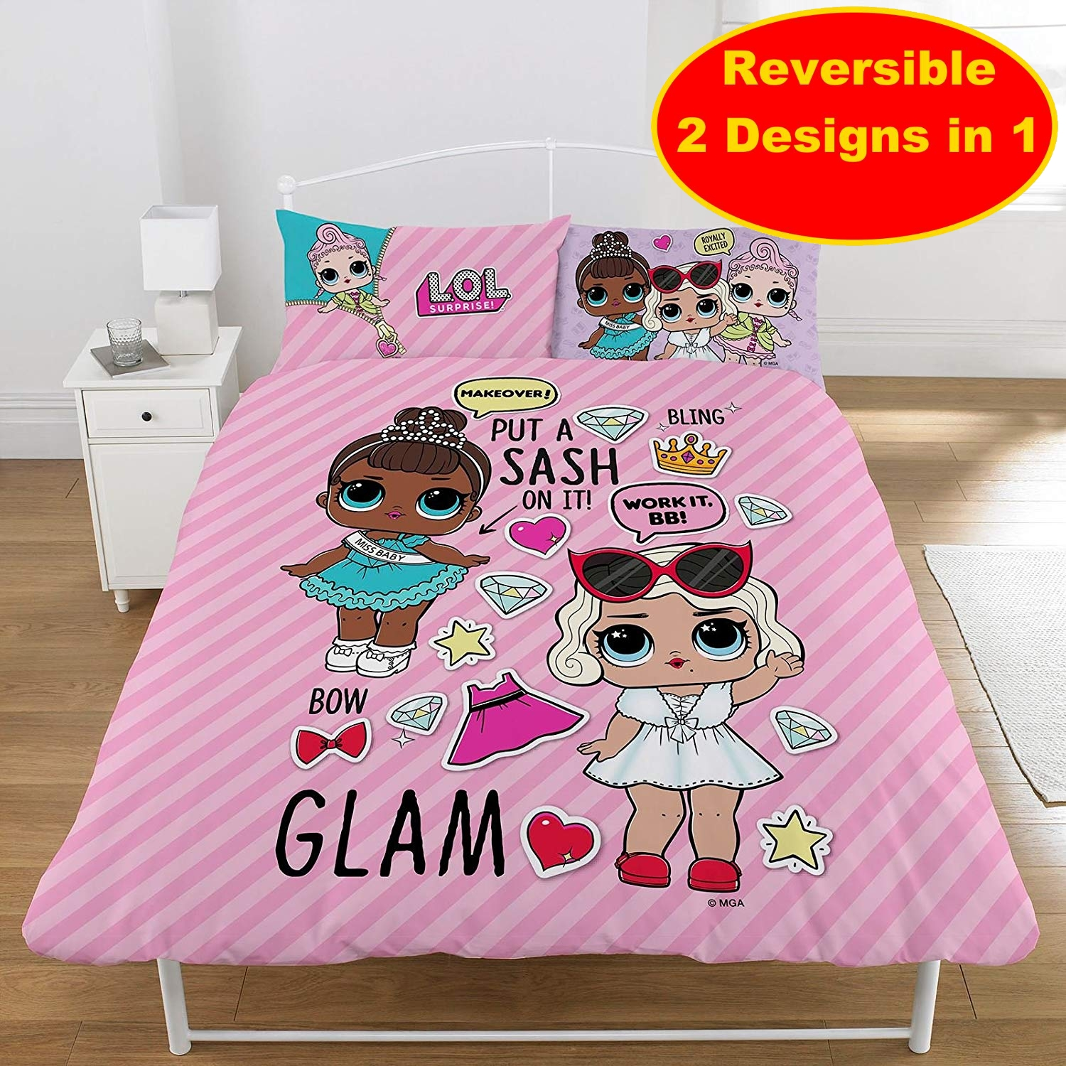 Little Mix Polycotton Panel Single Bed Duvet Quilt Cover Set Brand New Gift