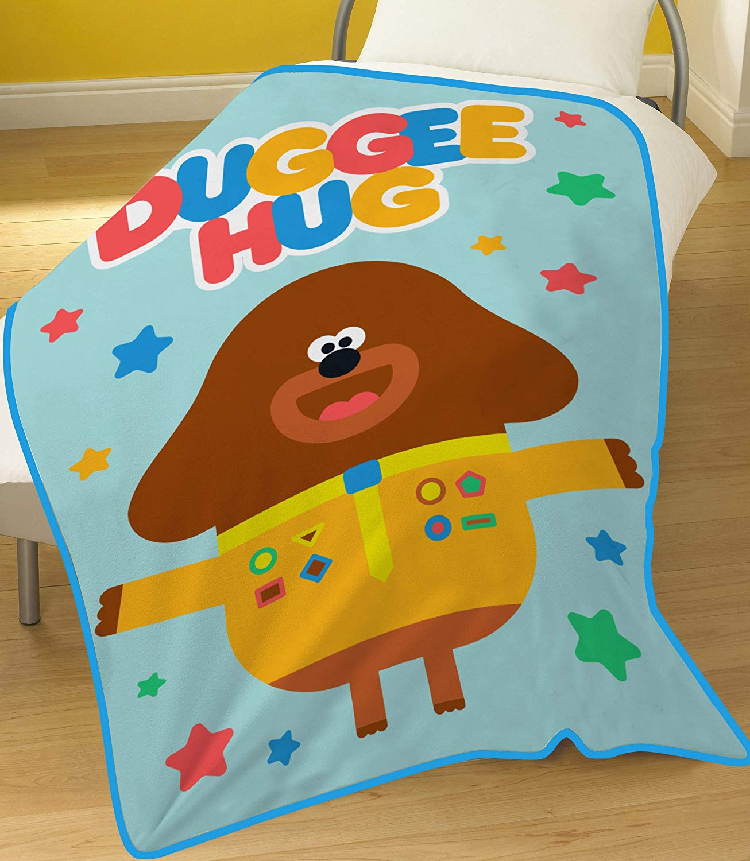825d4fb5f90 OFFICIAL HEY DUGGEE HUG FLEECE BLANKET KIDS THROW SNUGGLE BOYS GIRLS ...