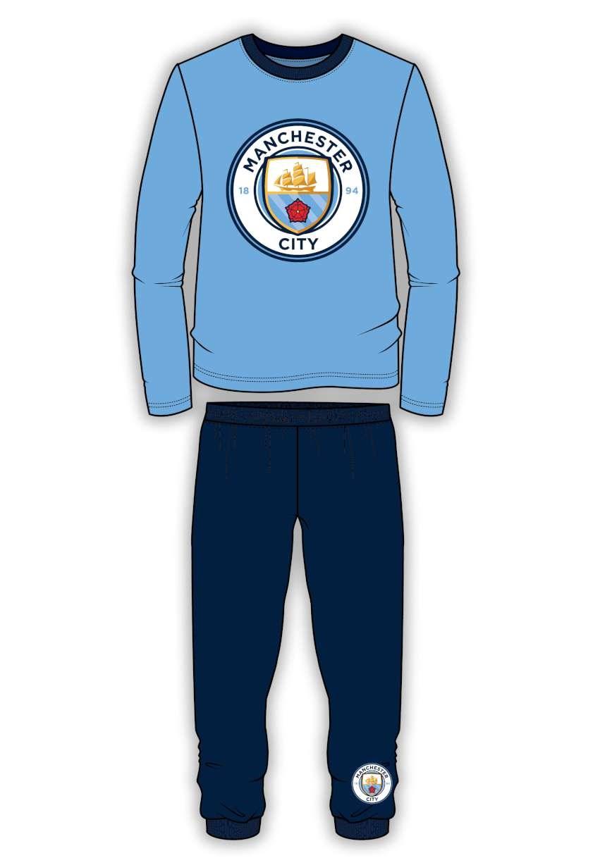 Kids Boys Official Football Pyjamas PJ/'s Nightwear Pyjama Set Sleepwear