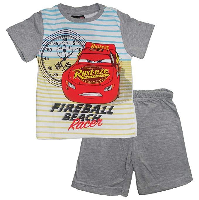 Disney Cars Bambino Maglietta e Pantaloncini