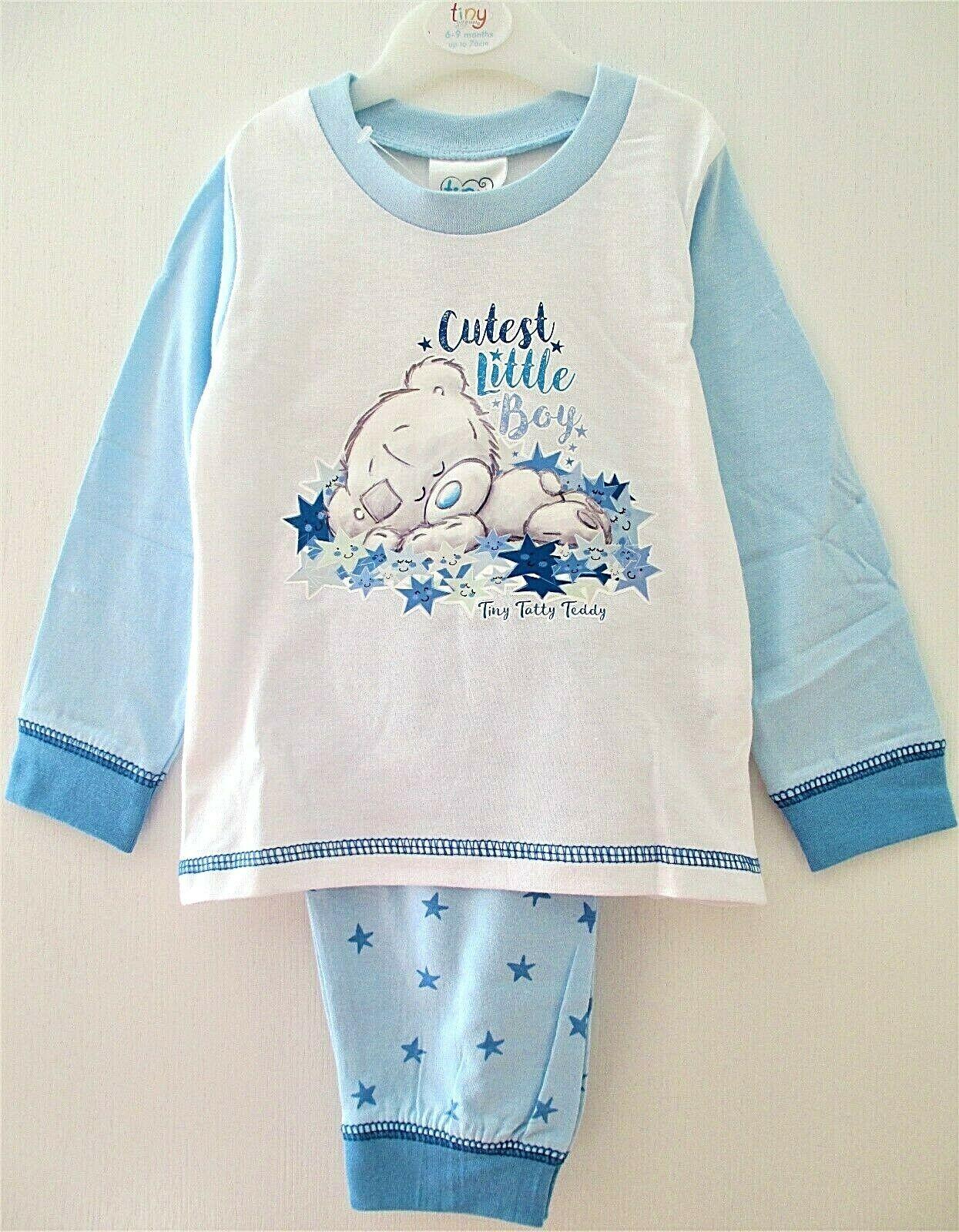 18-24 Months 12-18 New Baby Girls Tatty Teddy Character Pyjamas Set 6-9 9-12