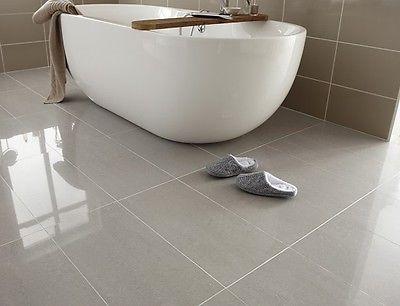 Lounge Steel Grey Dark Polished Porcelain 60 x 30 WALL & FLOOR TILE ...