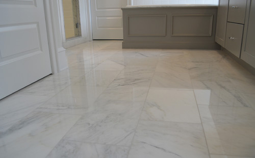 Carrara White Marble Polished 30cm X 60cm Wall & Floor