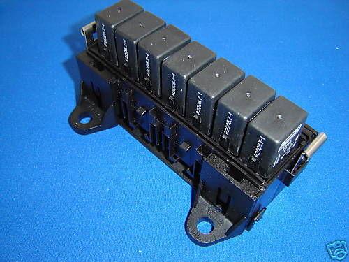 Relay Box For 7 Automotive Micro Relays Rb7u Ebay