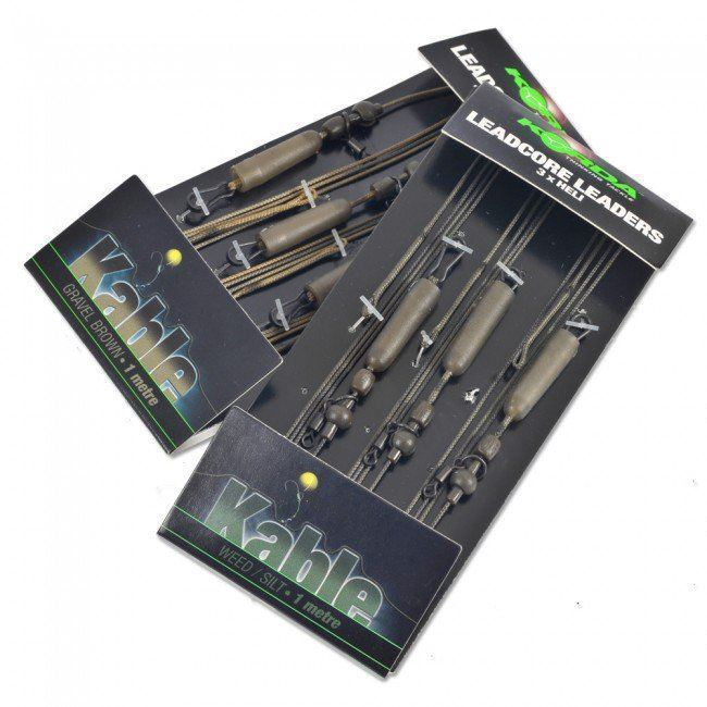 Korda Leadcore Leaders Various Patterns and Colours