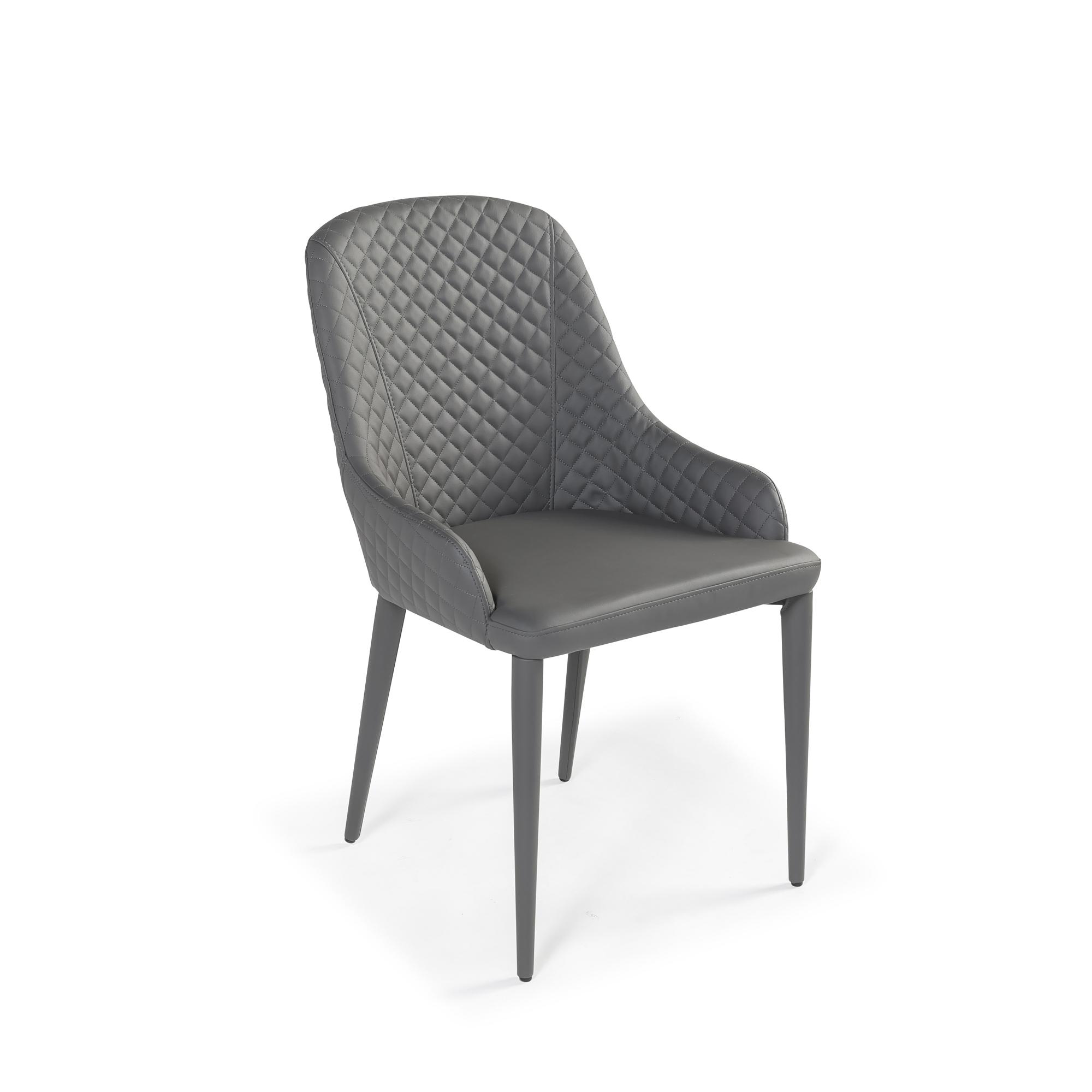 New Modern Luxury Grey Upholstered Designer Dining