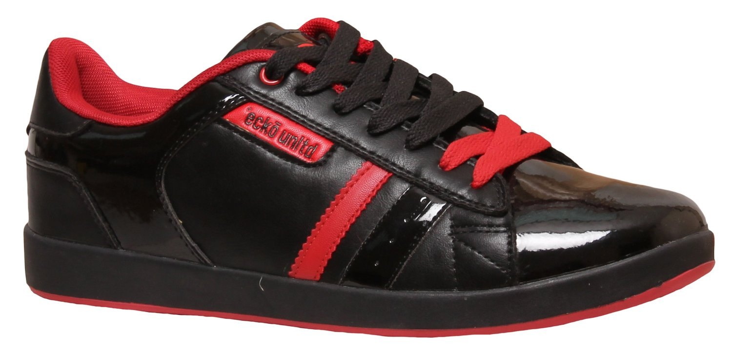 Black Tiger Men S Synthetic Leather Casual Shoes