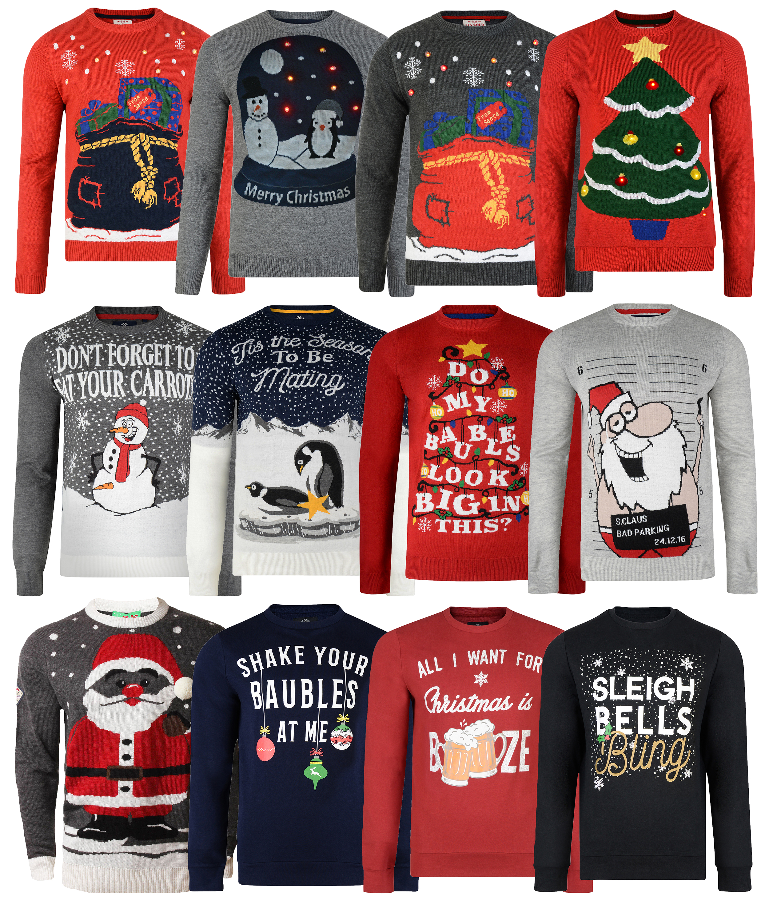Christmas Jumpers.Details About Christmas Jumpers New Novelty Festive Knit Sweatshirt Designs Xmas Jumper