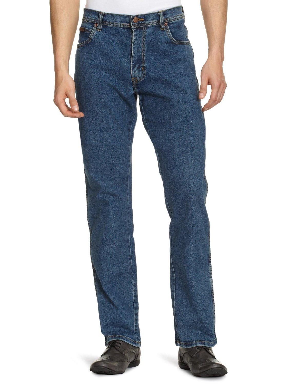 Texas Vintage Stonewash,Mens Jeans Wrangler