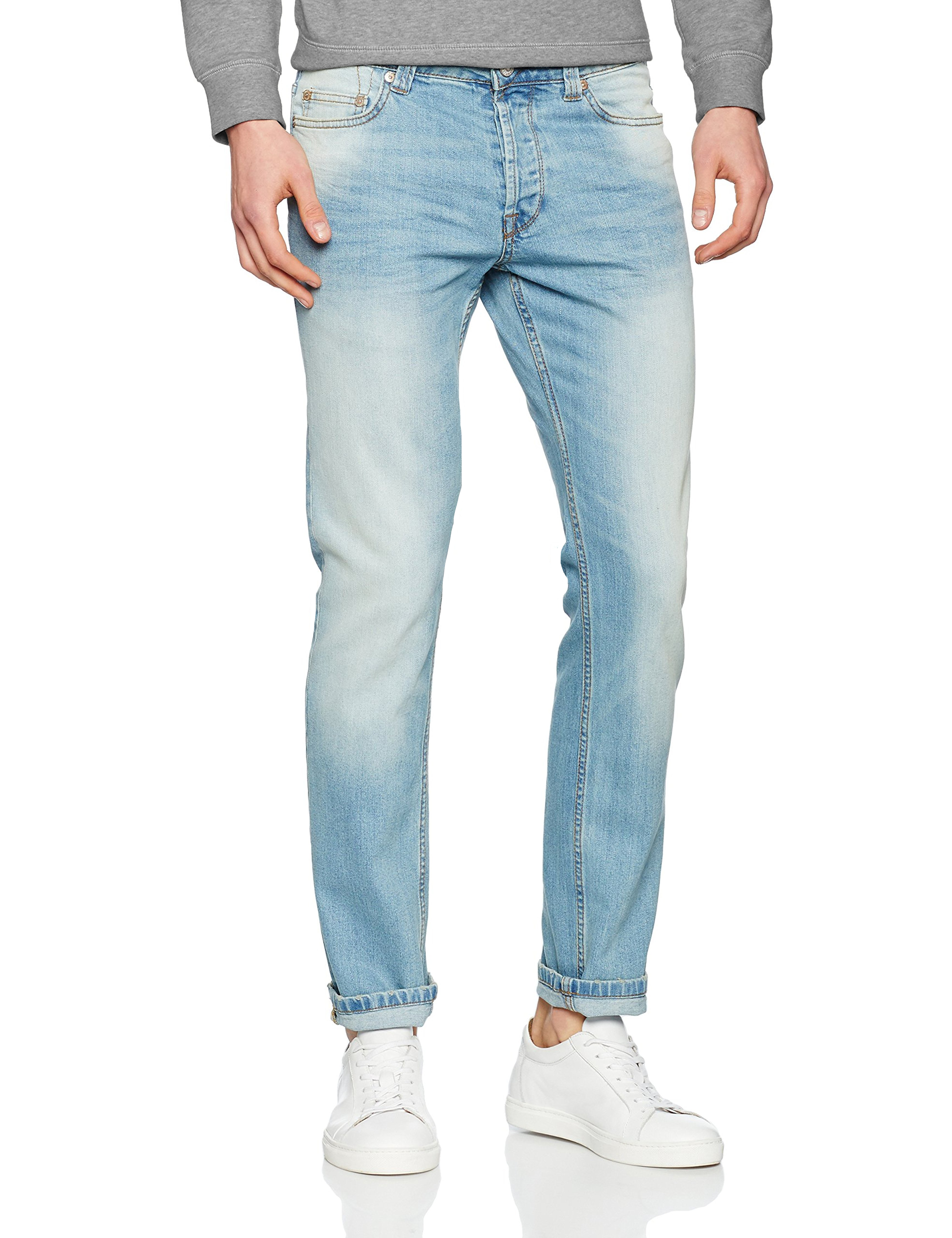 0163051daf27 Click on the Image to Enlarge. More Details. Only   Sons Loom fit is slim  stretch denim.