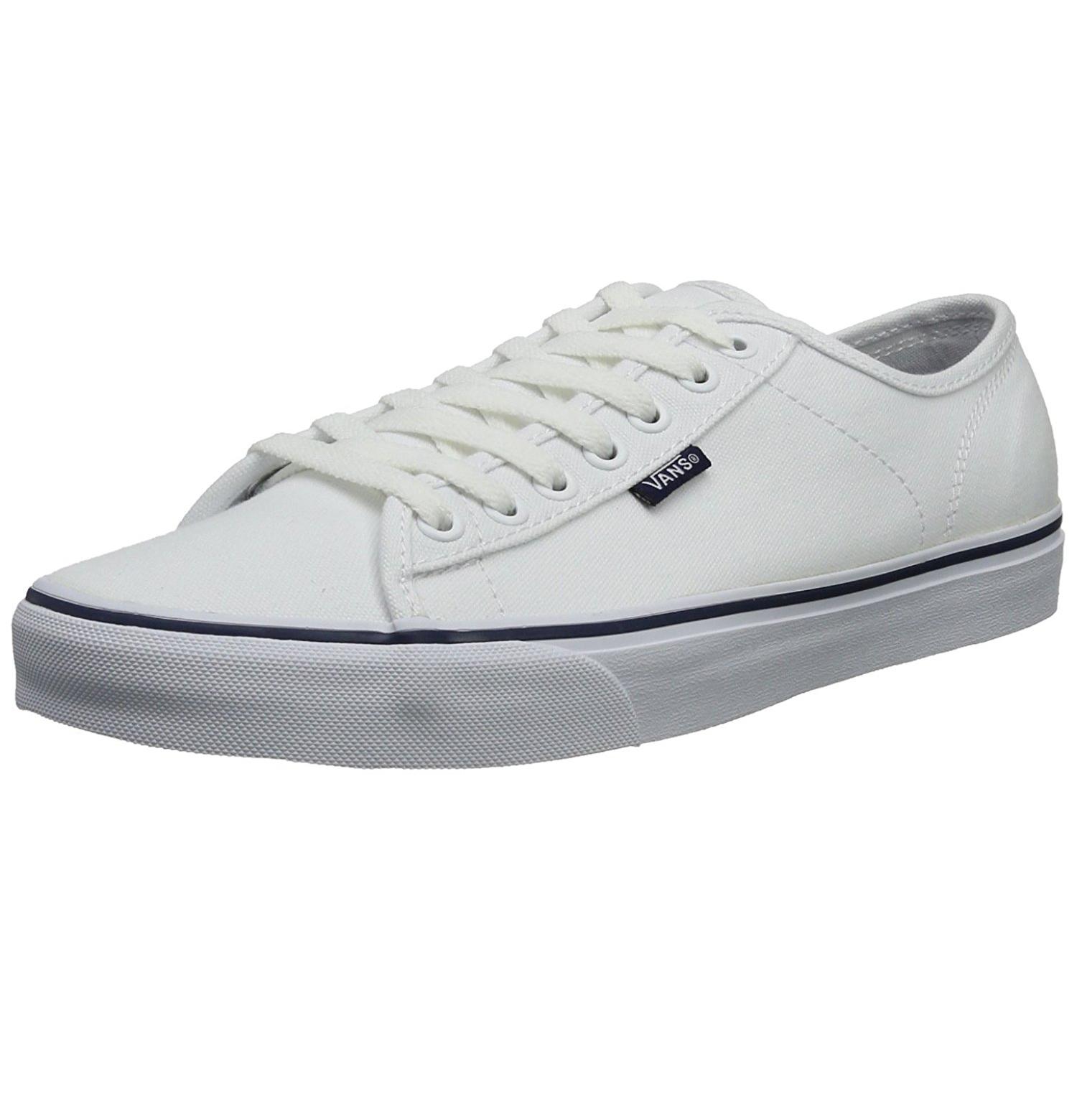 ad4291e63b VANS New Mens Ferris Stv Low Canvas Skater Shoes Plimsolls White ...