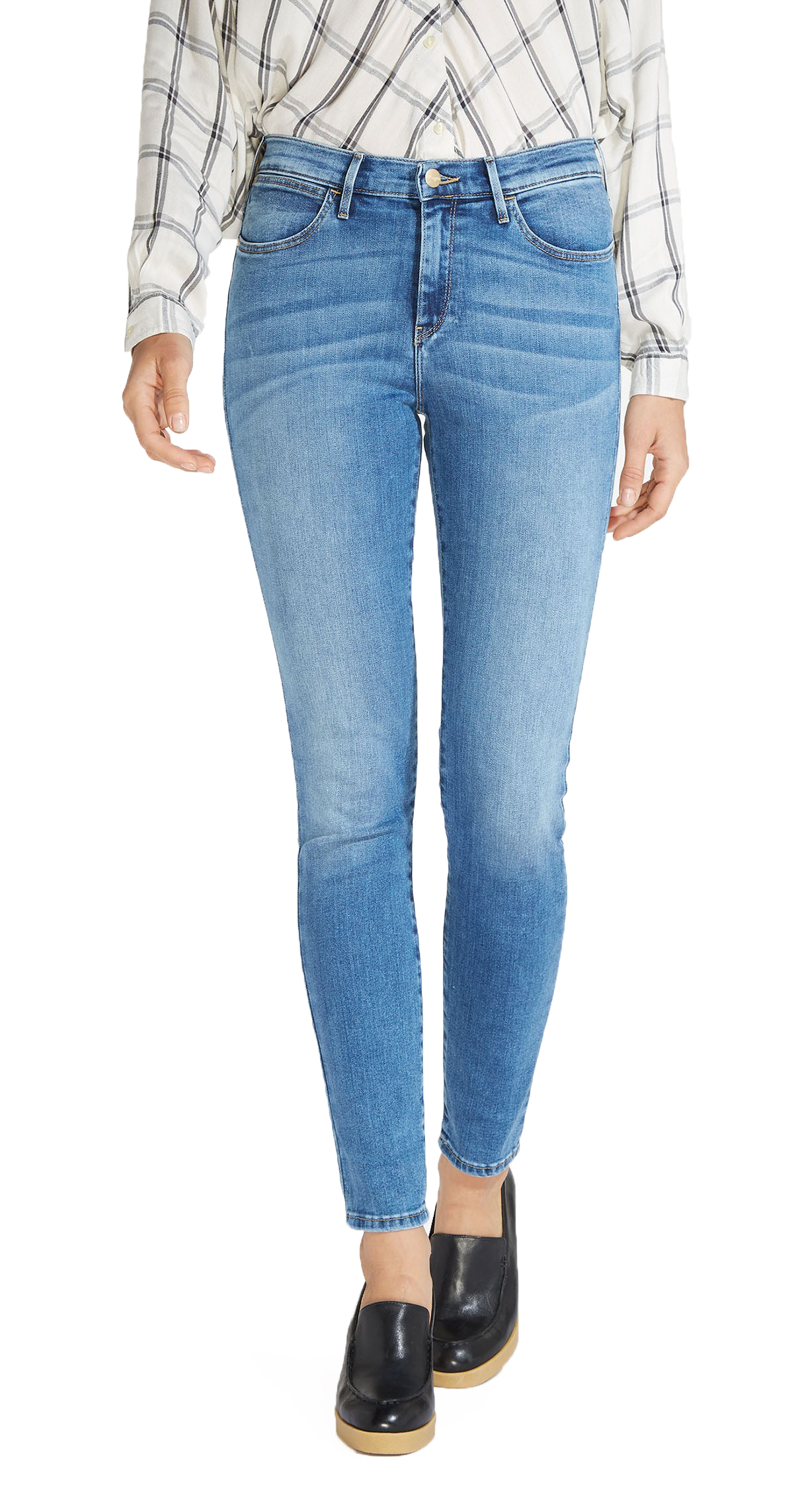 huge inventory suitable for men/women 100% genuine Details about Wrangler High Rise Skinny Flex Stretch Jeans Womens Ladies  Light Best Blue Denim