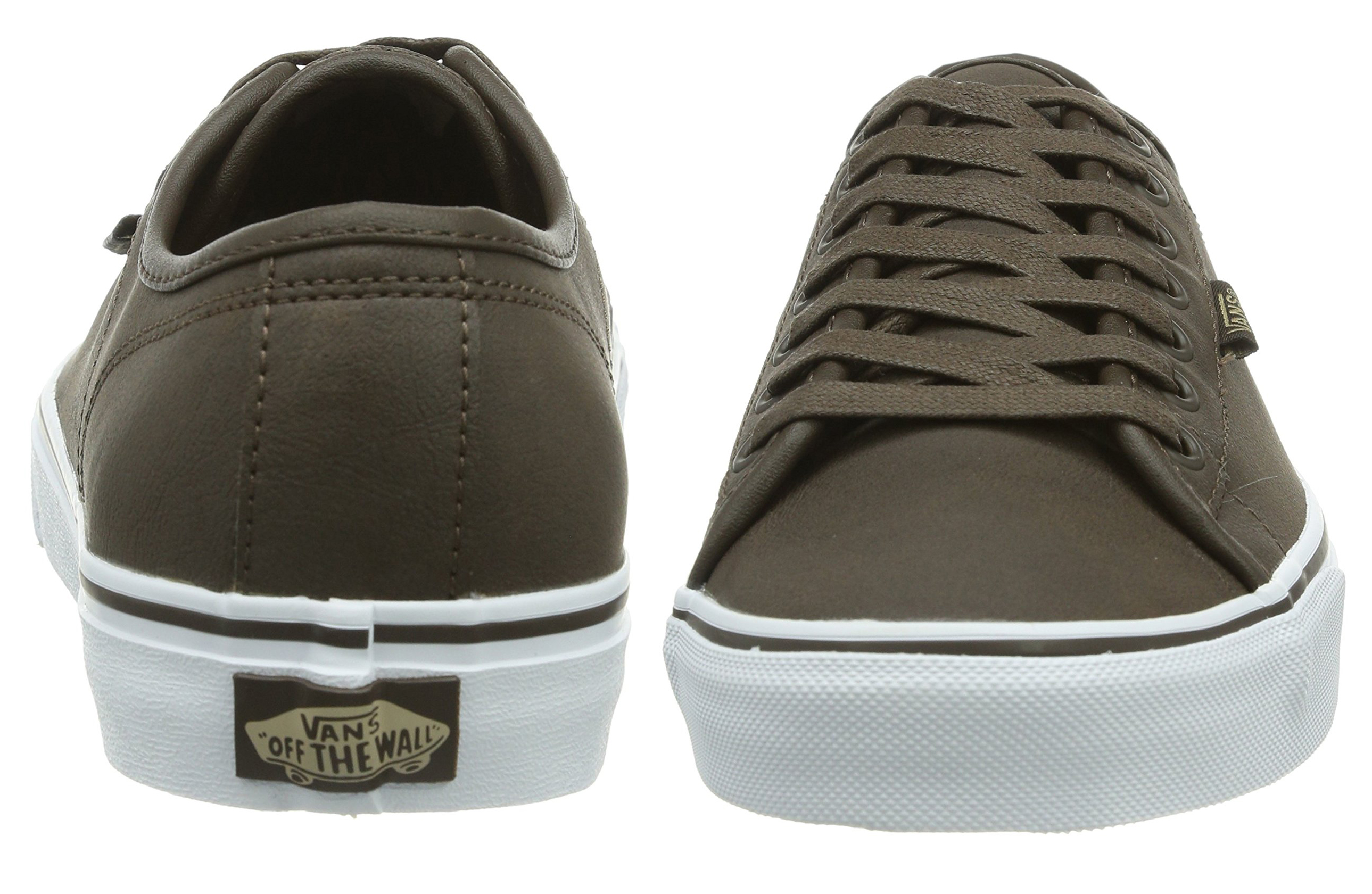 92c31ce1a6 Click on the Image to Enlarge. More Details. The Vans Ferris leather buck  low top mens ...