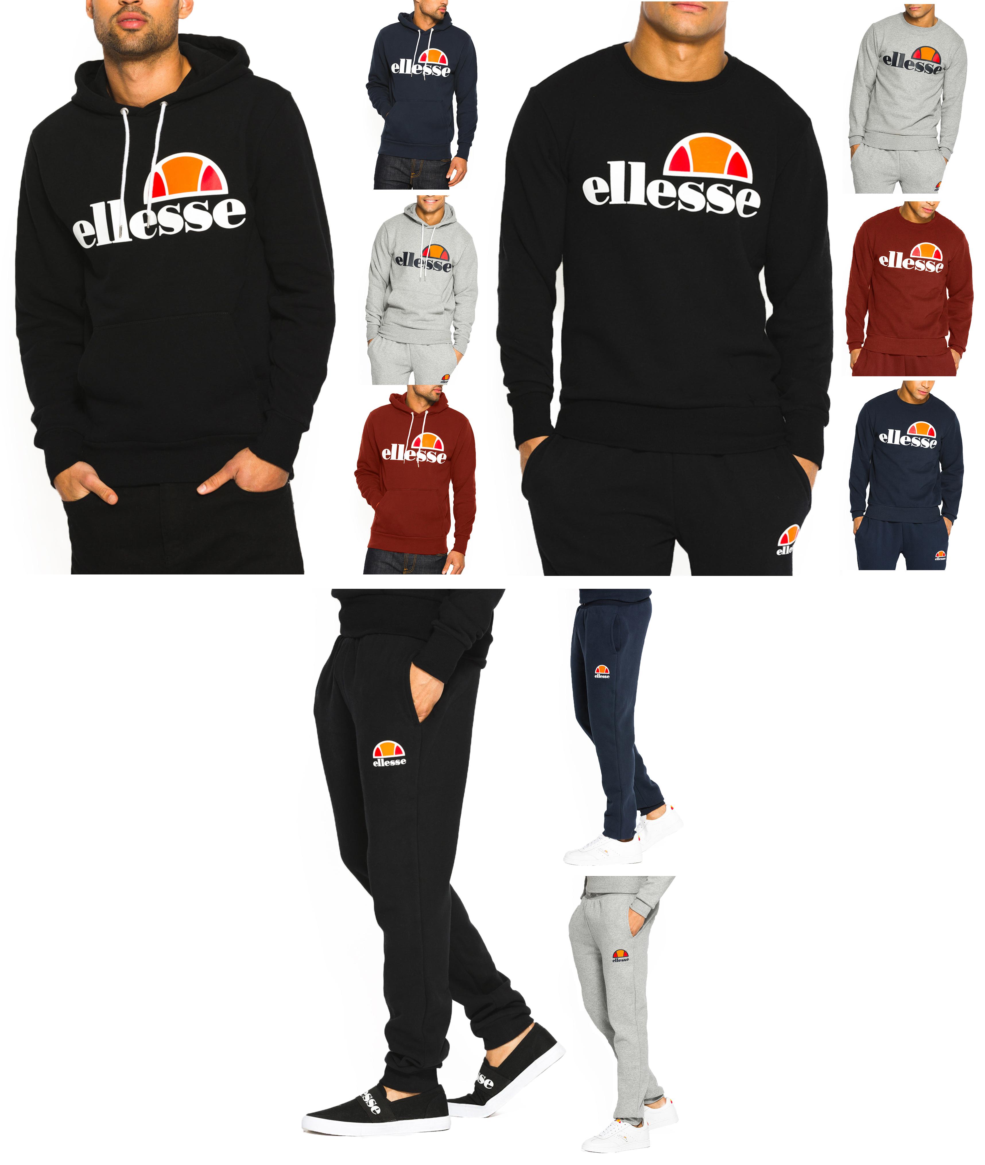 Disponible ellesse Fighter 12 Zip Track Top Sweatshirt